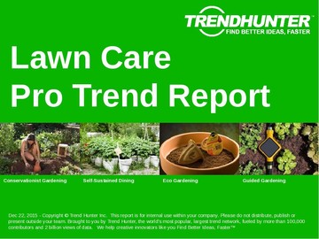 Lawn Care Trend Report and Lawn Care Market Research
