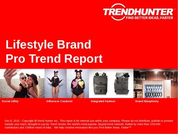 Lifestyle Brand Trend Report and Lifestyle Brand Market Research