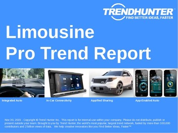 Limousine Trend Report and Limousine Market Research