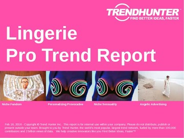 Lingerie Trend Report and Lingerie Market Research