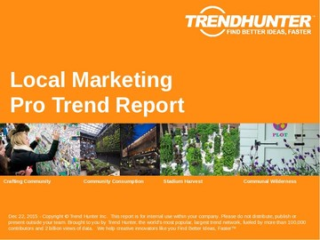 Local Marketing Trend Report and Local Marketing Market Research