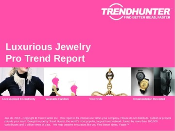 Luxurious Jewelry Trend Report and Luxurious Jewelry Market Research