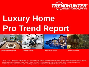 Luxury Home Trend Report and Luxury Home Market Research