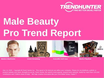 Male Beauty Trend Report and Male Beauty Market Research