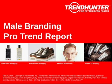 Male Branding Trend Report and Male Branding Market Research