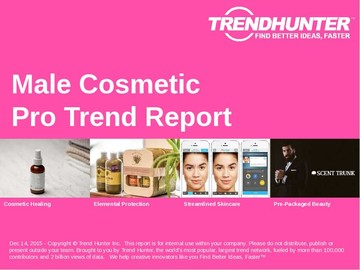 Male Cosmetic Trend Report and Male Cosmetic Market Research