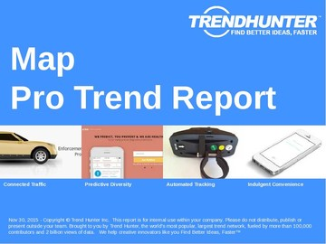 Map Trend Report and Map Market Research