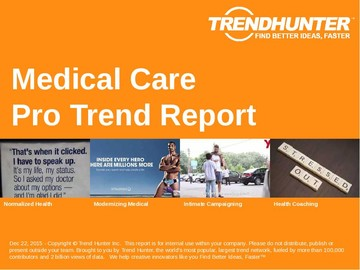 Medical Care Trend Report and Medical Care Market Research