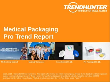 Medical Packaging Trend Report and Medical Packaging Market Research