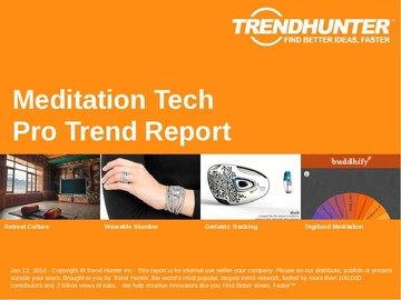 Meditation Tech Trend Report and Meditation Tech Market Research