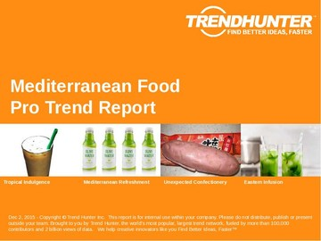 Mediterranean Food Trend Report and Mediterranean Food Market Research