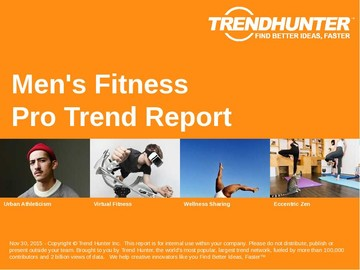 Men's Fitness Trend Report and Men's Fitness Market Research
