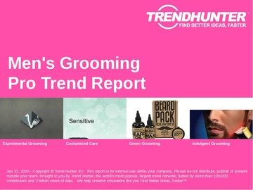 Men's Grooming Trend Report and Men's Grooming Market Research