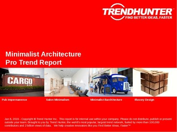 Minimalist Architecture Trend Report and Minimalist Architecture Market Research