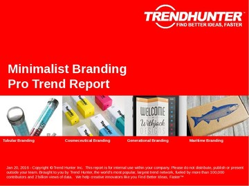 Minimalist Branding Trend Report and Minimalist Branding Market Research