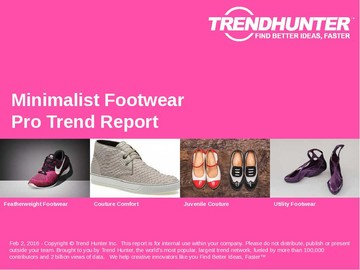 Minimalist Footwear Trend Report and Minimalist Footwear Market Research