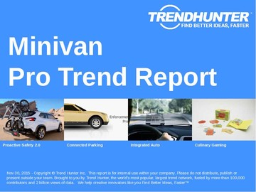 Minivan Trend Report and Minivan Market Research