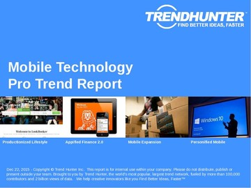 Mobile Technology Trend Report and Mobile Technology Market Research