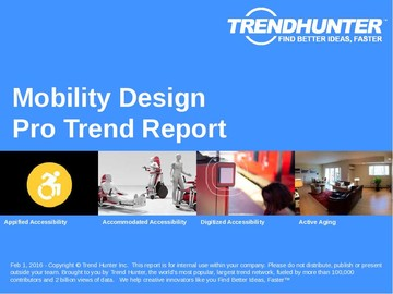 Mobility Design Trend Report and Mobility Design Market Research