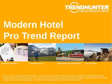 Modern Hotel Trend Report and Modern Hotel Market Research