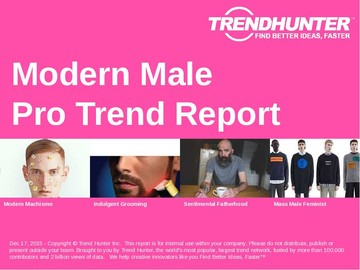 Modern Male Trend Report and Modern Male Market Research