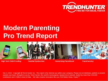 Modern Parenting Trend Report and Modern Parenting Market Research