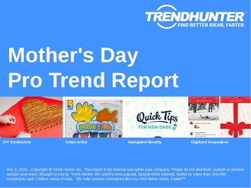Mother's Day Trend Report and Mother's Day Market Research