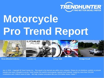 Motorcycle Trend Report and Motorcycle Market Research