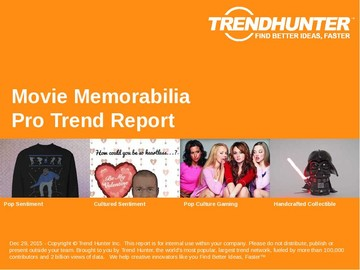 Movie Memorabilia Trend Report and Movie Memorabilia Market Research