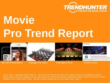 Movie Trend Report and Movie Market Research