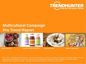 Multicultural Campaign Trend Report and Multicultural Campaign Market Research