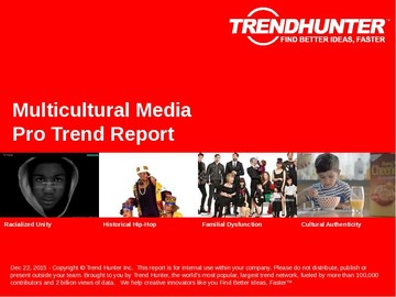 Multicultural Media Trend Report and Multicultural Media Market Research