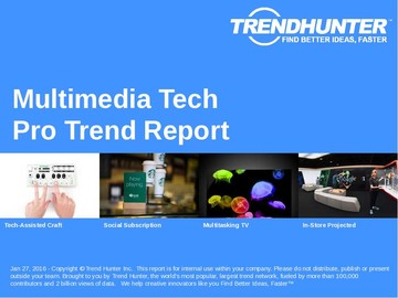 Multimedia Tech Trend Report and Multimedia Tech Market Research