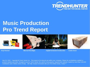 Music Production Trend Report and Music Production Market Research
