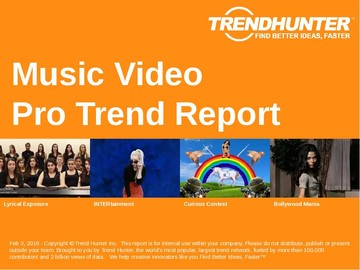 Music Video Trend Report and Music Video Market Research
