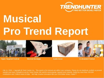 Musical Trend Report and Musical Market Research