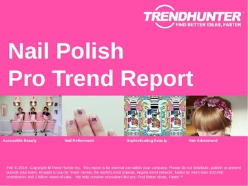 Nail Polish Trend Report and Nail Polish Market Research