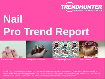 Nail Trend Report and Nail Market Research
