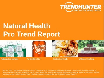 Natural Health Trend Report and Natural Health Market Research