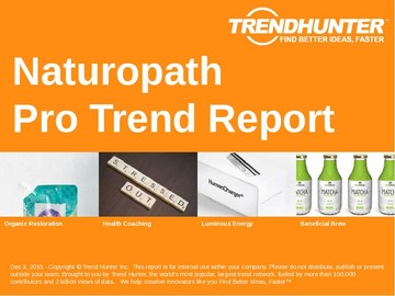 Naturopath Trend Report and Naturopath Market Research