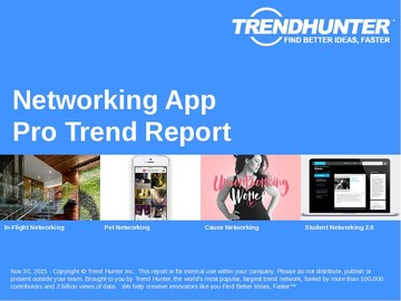 Networking App Trend Report and Networking App Market Research