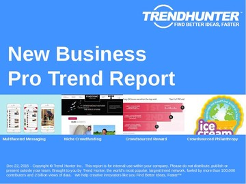 New Business Trend Report and New Business Market Research