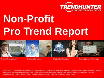 Non-Profit Trend Report and Non-Profit Market Research