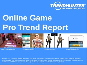 Online Game Trend Report and Online Game Market Research