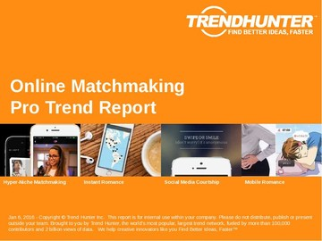Online Matchmaking Trend Report and Online Matchmaking Market Research