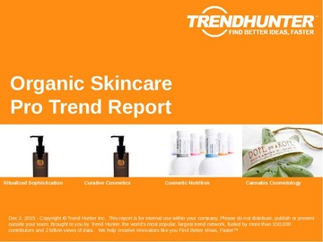 Organic Skincare Trend Report and Organic Skincare Market Research