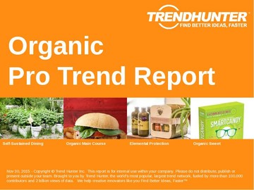 Organic Trend Report and Organic Market Research