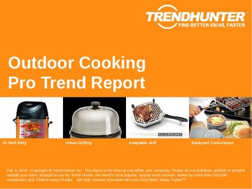 Outdoor Cooking Trend Report and Outdoor Cooking Market Research