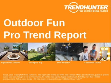 Outdoor Fun Trend Report and Outdoor Fun Market Research