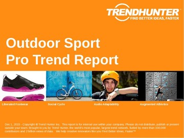 Outdoor Sport Trend Report and Outdoor Sport Market Research